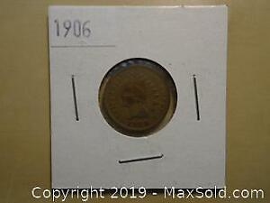 1906 US Indian Head Penny