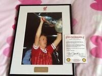 Genuine signed photo Phil neal