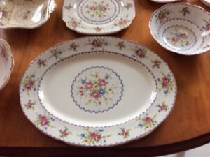 PETIT POINT CHINA SET