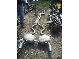 bmw e90 -91 3 series 335 diesel full exhaust system for sale or fitted call parts thanks