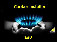 Gas Engineer Plumber Electrician Cooker oven install disconnect certificate
