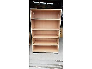 Wooden Display Unit/ Bookcase- Includes 4 Shelves