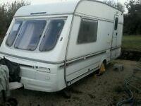 Two berth caravan