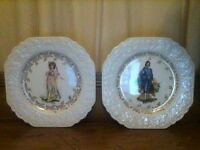 Lord Nelson plates