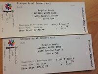 2 x Average White Band : Glasgow, Thursday, 23rd November 2017