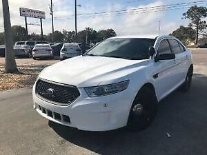 Ford Taurus 2015 Police Pack White AWD