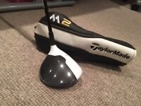 TaylorMade M2 3 Wood 15 degrees RH Brand New, with head cover