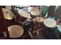 complete drumset