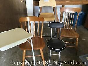 Chairs And Table A