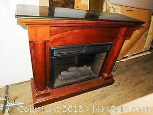 Electric Fireplace C