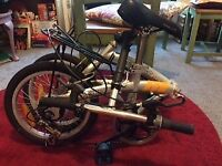 2 folding bikes in very good condition