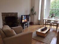 Double room in spacious, bright, quiet, f/f flatshare. Zone 2 tube. 15 mins to Bond St door to door
