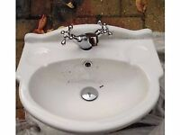 Brand New Basin with Taps