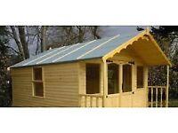 Large summerhouse/shed