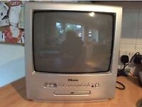 "14"" TELEVISION TV AND DVD PLAYER COMBI - CLACTON ON SEA CO15 6AJ"
