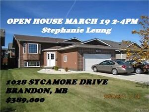 OPEN HOUSE - MARCH 19 2-4PM  1028 SYCAMORE DRIVE