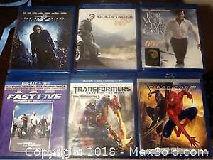 Blu Ray Movies DVDs Lot Of Six