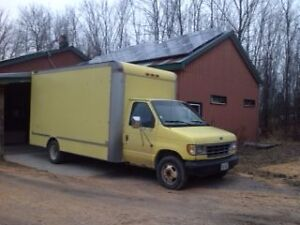 1995 Ford E-Series Cube Van Other