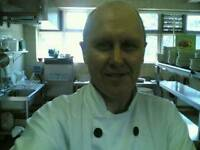 Happy Enthusiastic Pub Chef Cook Available.