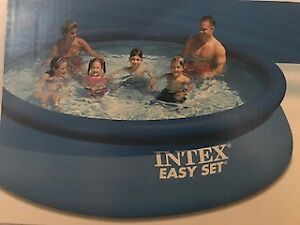 """Intex 12' x 30"""" Easy Set Above Ground Pool with Filter Pump"""