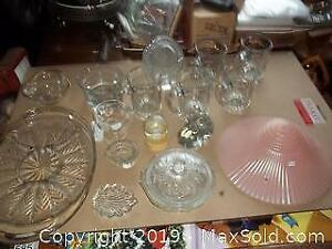 Glass Trays Dishes Plus B