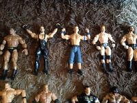 Need ASAP gone wwe figures in immaculate condition £4 each or can sell as a bundle