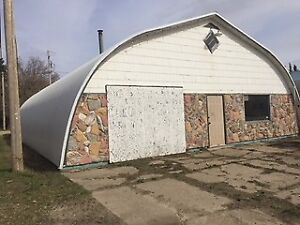 Double lot with quonset in Star City!
