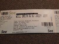 2 x Will Smith & Jazzy Jeff, Livewire Festival, Blackpool tickets