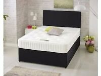 Can Deliver Today King Size Bed and Top Quality 25cm Orthopaedic Mattress Brand New Factory Wrapped