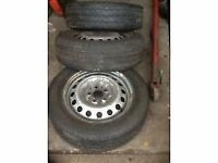 Van tyres for sale commercial good tread on Mercedes vito rims