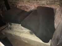 FREE John Lewis Mattress, L shaped sofa, Leather Dining chairs & Mirror