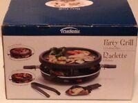 Machine à raclette + grill - Marque Trudeau - 6 personnes
