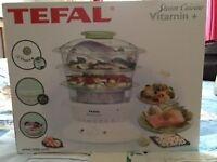 New Tefal Steam cuisine