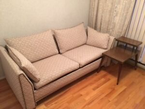 Couch Futon and side coffee table