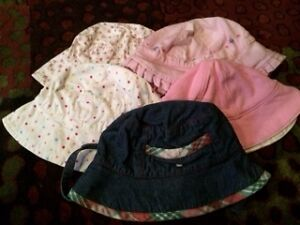 Infant Girl's Summer Hats -Excellent Condition