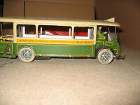 Old French toys - Paris bus and some wind up cars