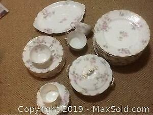 Antique Limoges Dinner Dishes