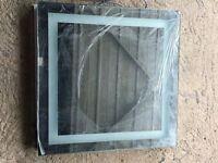 Heated LED Bathroom mirror 60 x 60 cm