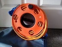 Caravan Electric Hook Up Cable 25m - on reel and bagged