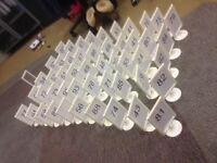 Plastic Table Menu/Number Holders