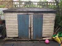 Free - Wooden storage shed