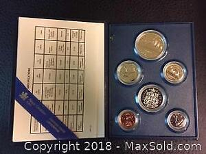 Mint Canadian Coins from 1987