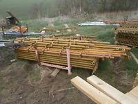 wedge scaffold 10 bays new inc boards