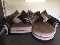 4 Seater Pillow Back Lounger and 3 Seater Pillow Back Sofa