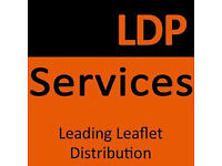 Leaflet postal worker - Full Time - £237.50 per week - Access to a car is essential