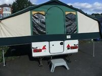 WANTED / BUYING Pennine Fiesta Conway country man or similar 2 x 2 folding camper