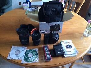Canon 80D camera + Canon EF 24-105 MM F/4l IS II USM LENS mark 2