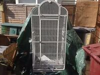 Large Bird Cage ~In Good Condition