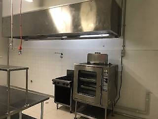 Commercial catering/food production kitchen -HACCP standard