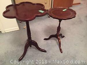Two Occasional Tables B